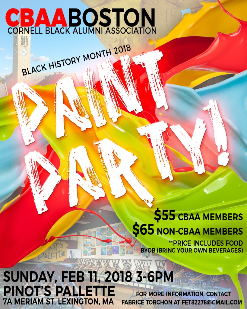 CBAA Boston Paint Party